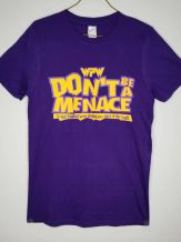 WPW Don't Be a Menace PURPLE thumbnail
